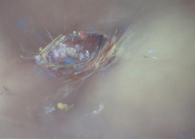 """Nesting Instinct Medley / Soft Pastel  13"""" x 19"""" - $975.00"""